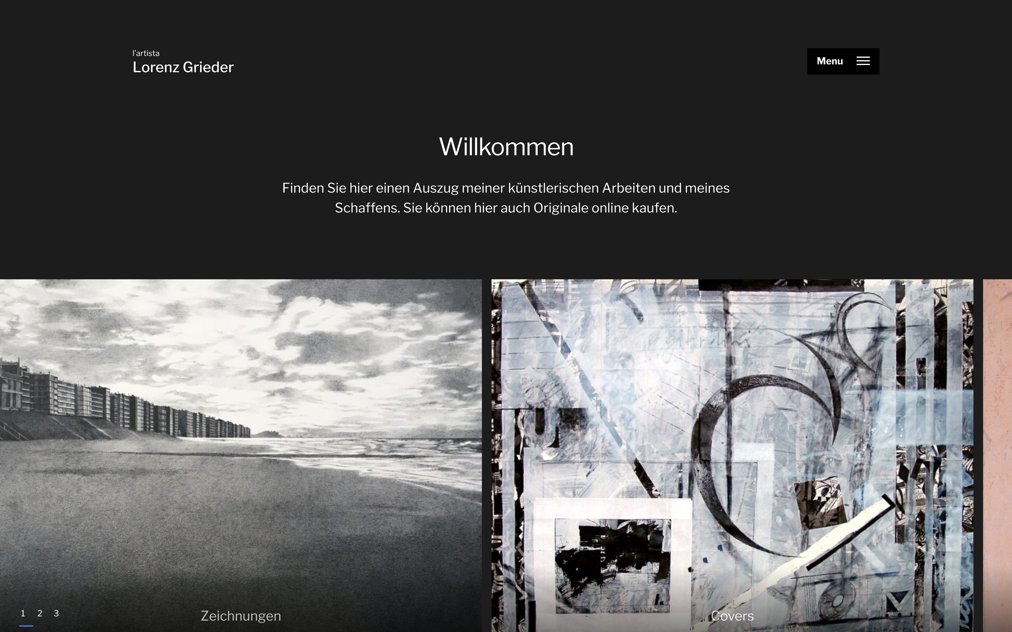 Website Lorenz Grieder