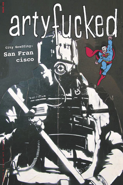artyfucked Heft 49 – cover, San Francisco