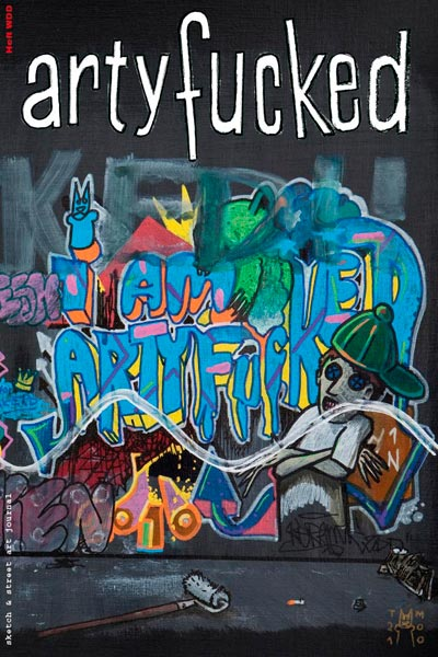 artyfucked special issue WDD – cover